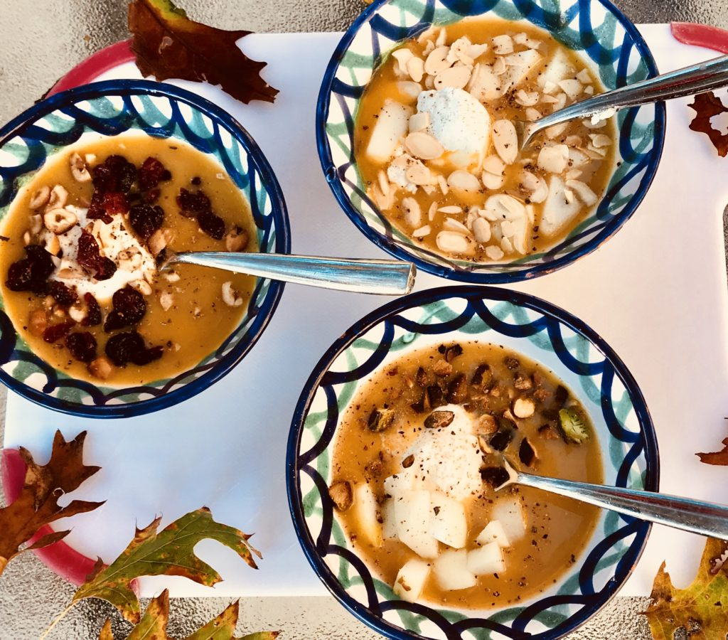 Pumpkin Macoun Soup
