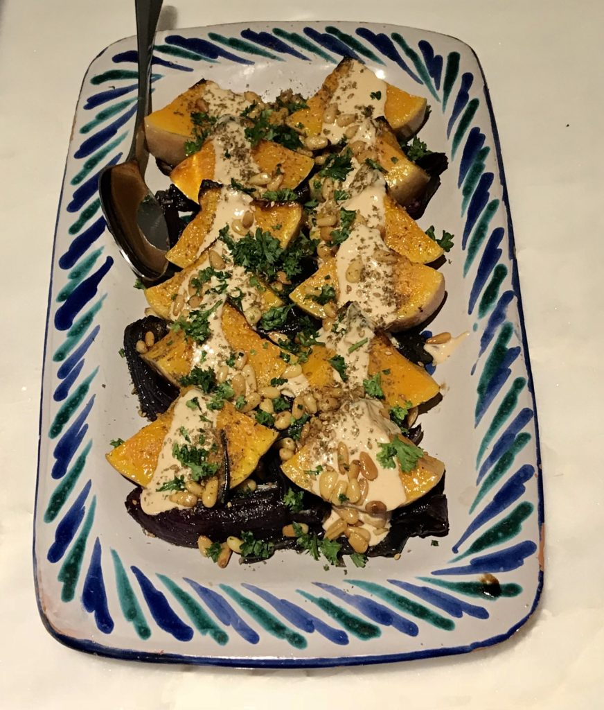 Butternut Squash with Red Onion & Za'atar